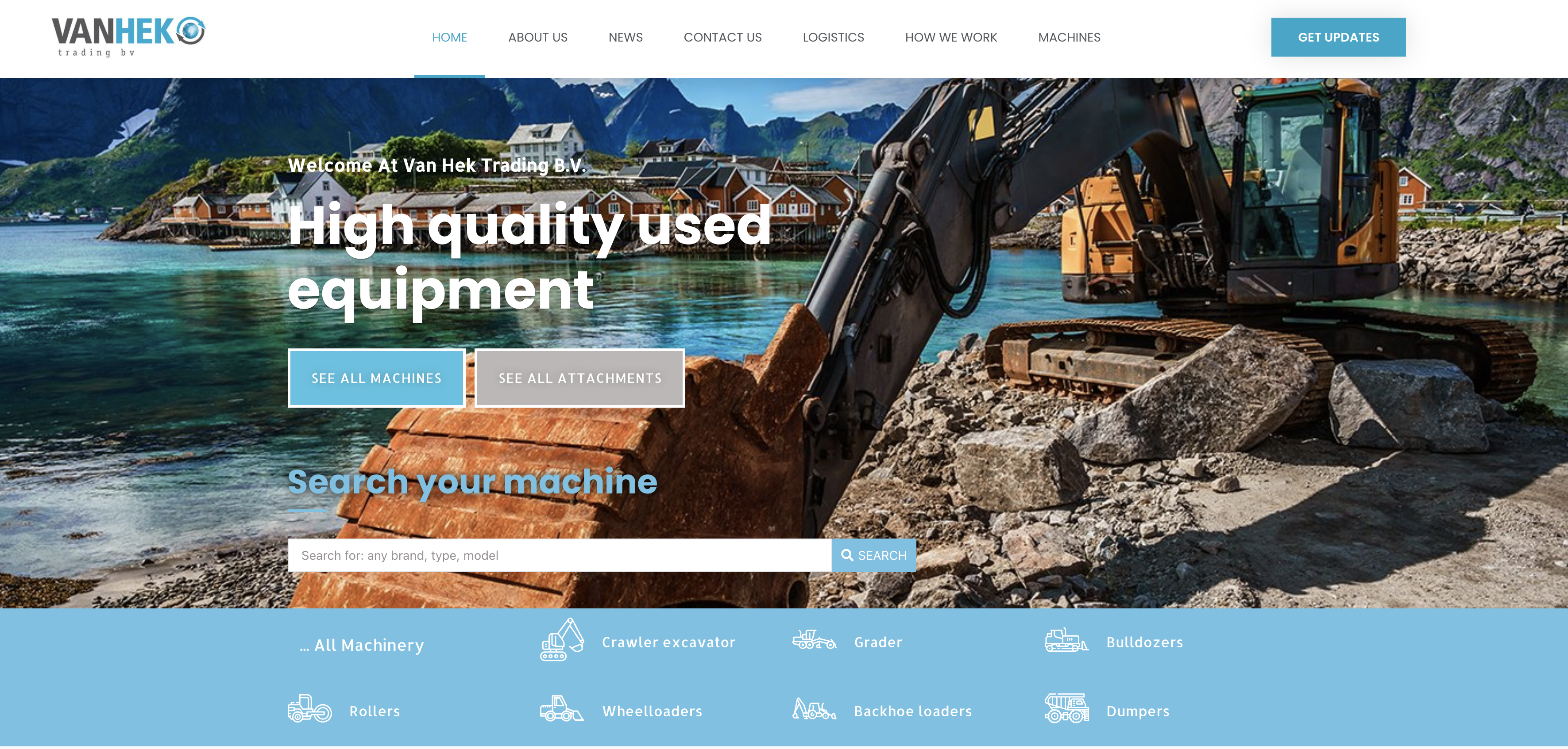 van-hek-trading-webdesign